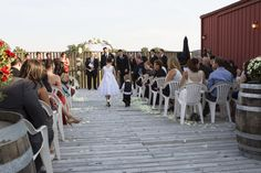 September Wedding Ceremony on South Deck (Brewery Ballroom)