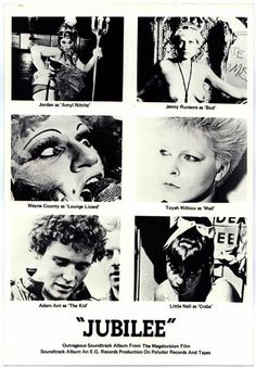 Jubilee directed by Derek Jarman, 1977