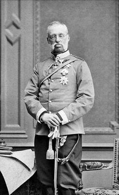Archduke Albrecht of Austria, Duke of Teschen (1817 – 1895).