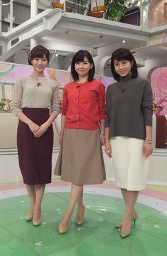 2015/10/28 グッド!モーニング新3姉妹のOggiStyleで、 流行のファッションをチェックしましょう 今日のテーマは『ニット×旬のスカート』でした