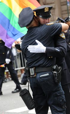 Cops on the Pride