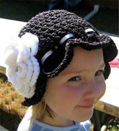 Free crocheted hat pattern