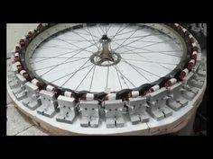 Gerador eólico com ímãs de microondas vídeo 4 - YouTube