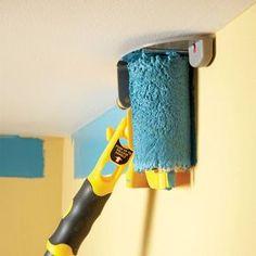 Best Decor Hacks : Description A Better Edge-Painting Tool Edge Painting Tool, Painting Tools, Painting Edges, Diy Painting, Painting Tricks, Painting Room Tips, Painting Classes, Painting Furniture, Painting Techniques