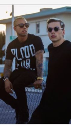 Bizzey and Nizzle from Yellow Claw.