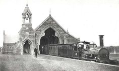 """Discover Mortuary Station in Sydney, Australia: A special train service transported Sydney's dead from this station to """"Necropolis Receiving Houses"""" at Rookwood Cemetery. Old Pictures, Old Photos, Vintage Photos, Train Service, Haunted Places, Train Station, Station 1, Sydney Australia, Barcelona Cathedral"""
