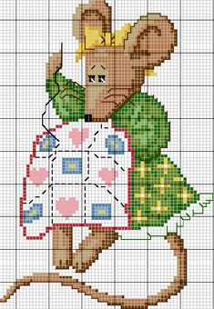 sandylandya@outlook.es  cross-stitch mouse cross-stitching!