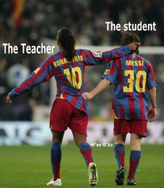 The teacher & the student -  For the best rugby gear check out http://alwaysrugby.com