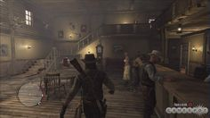 red dead redemption armadillo saloon poker room - Google Search Three Point Perspective, Western Saloon, Red Dead Redemption Ii, Sheriff Office, Rockstar Games, Old West, Poker, Westerns, Armadillo