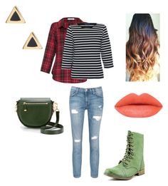 Me by squidney1027 on Polyvore featuring polyvore, moda, style, Saint James, Vitamin, Current/Elliott, Skechers, Rebecca Minkoff, Ariella Collection, fashion and clothing