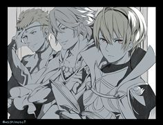 Fire Emblem: If/Fates - Leon, Odin and Zero
