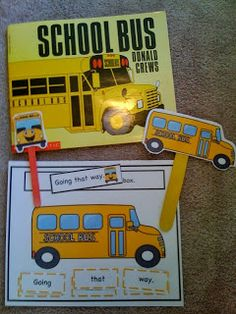 Free School Bus Printable