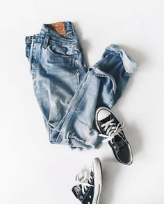 My everyday style | denim + converse