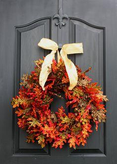 Fall wreath- Autumn Wreaths for door - Berry wreath - Door Wreaths - Fall Wreaths for door - Wreath for door