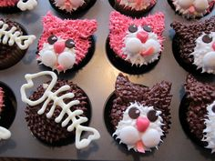Kitty Cat Cupcakes | Kitty Cat Cupcakes