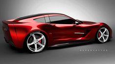 2014 Corvette...Supervettes SV8.R Body Kit