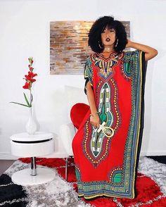 """@muurswagg Dashiki Kaftan Dress ❤️❤️ #muurswagg"""