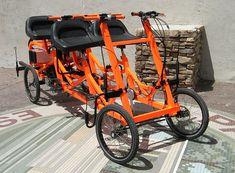Utah Trikes - Bills 4 Seater Electric Cycle