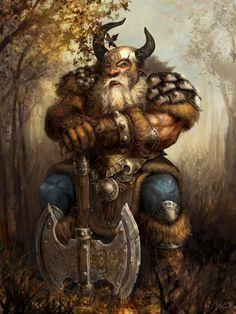 Dwarve warrior