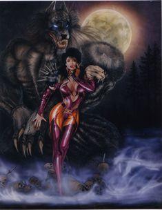 Huntress with #werewolf sentry by ChuckWalton on DeviantArt