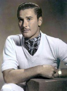 Errol Flynn in color