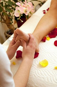 Photo about Woman receiving foot massage in spa salon. Image of massage, hands, pressure - 13026865 Massage For Men, Spa Massage, Foot Massage, Massage Therapy, Massage Images, Detox Spa, Massage Benefits, Health Benefits, Beauty Spa
