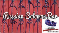 Russian Solomon Bar Tutorial | Swiss Paracord