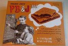 What's Good at Trader Joe's?: Trader Joe's PB&J Bar