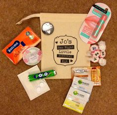 Hen Party Survival Bag #henpartyideas #survivalbag #bacheloretteparty