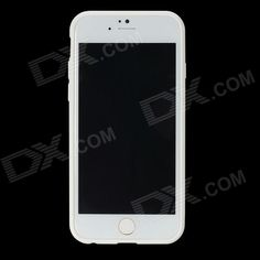 ROCK RK-ip6E Transparent PC Back Shell w/ Soft Edging Case for IPHONE 6 - White
