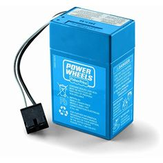 Fisher-Price Power Wheels Junior 6-Volt Rechargeable Replacement Battery -- Check this awesome image @