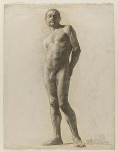 Life Study. Male Nude - Miguel Blay y Fabrega - Museo Nacional del Prado