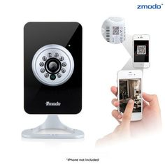 Zmodo 720p HD Wireless Indoor Network Surveillance Mini IP Camera at 52% Savings off Retail!