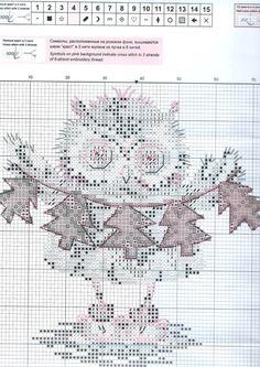 ru / Фото - + - by tammi Cross Stitch Owl, Cross Stitch Books, Cross Stitch Animals, Cross Stitching, Cross Stitch Patterns, Tambour Embroidery, Cross Stitch Embroidery, Embroidery Patterns, Owl Sewing