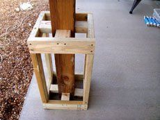 Adding plywood to your sub-frame will allow for greater adhesive contact later.
