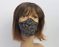 Design-Schutzmaske, Mundmaske, 3D Schnitt Mund,-Nasenschutzmaske Mundschutz, Baumwolle 3d, Etsy, Fashion, Protective Mask, Masks, Handmade, Cotton, Moda, Fashion Styles