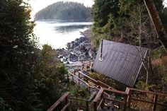 Our Cabins Overlooking Duffin Cove