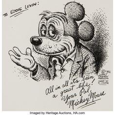 "Robert Crumb ""Mickey Mouse"" Illustration Original Art Walt Disney's classic mouse has - Available at 2017 August 10 - 12 Comics &. Robert Crumb, Comic Books Art, Comic Art, Fritz The Cat, Cartoon Art, Illustration Art, Art Illustrations, Watercolor Art, Fantasy Art"