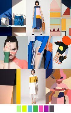 nghệ thuật thị giác màu sắc trong cách phối đồ nữ cực chất