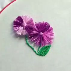 how to learn hand embroidery stitches Hand Embroidery Videos, Embroidery Stitches Tutorial, Embroidery Flowers Pattern, Learn Embroidery, Hand Embroidery Designs, Embroidery Techniques, Ribbon Embroidery, Embroidery Ideas, Beginner Embroidery
