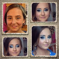 Before & after Debs  make up