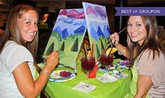 Two-Hour Social Painting Event from Paint Nite (Up to 46% Off) in North Waterloo. Groupon deal price: C$25
