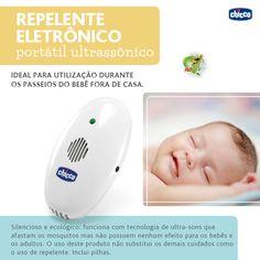 O verão começou e com ele aumenta a concentração de mosquitos e pernilongos. Para seu bebê ficar sempre protegido é preciso atenção redobrada nessa estação. Para ajudar a proteger o bebê invista em telas de berço, repelentes infantis e no nosso Repelente Eletrônico Portátil Ultrassônico. É silencioso e ecológico: funciona com tecnologia de ultra-sons que afastam os mosquitos mas não possuem nenhum efeito para os bebês e os adultos. O produto é ecológico uma vez que não libera nenhum (...)