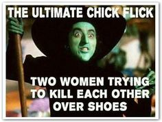 Gimme the shoes! !! Lol