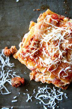 Easy Cheesy Lasagna Recipe at Sweet Rose Studio