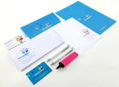 "Branding for a private kindergarden named ""Little Stars"""