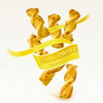 Mini-Twist Fromage Léger et croustillant apéritif au fromage pour le plaisir de grignoter à chaque occasion.