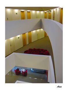 Diferentes plantas del edificio del Hotel Sant Cugat