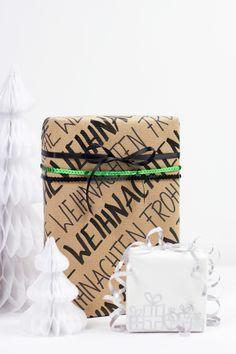 DIY: Geschenkpapier gestalten | we love handmade