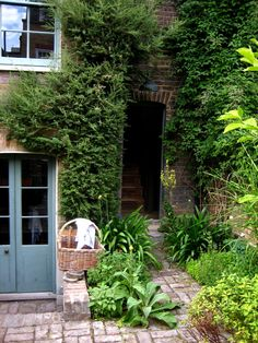 8 Walden Street after the extension was demolished. Garden by Luis Buitrago.
